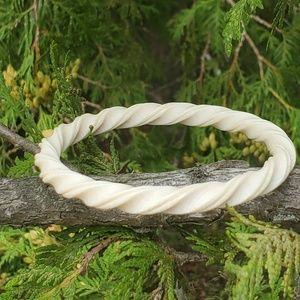 Vintage carved bracelet